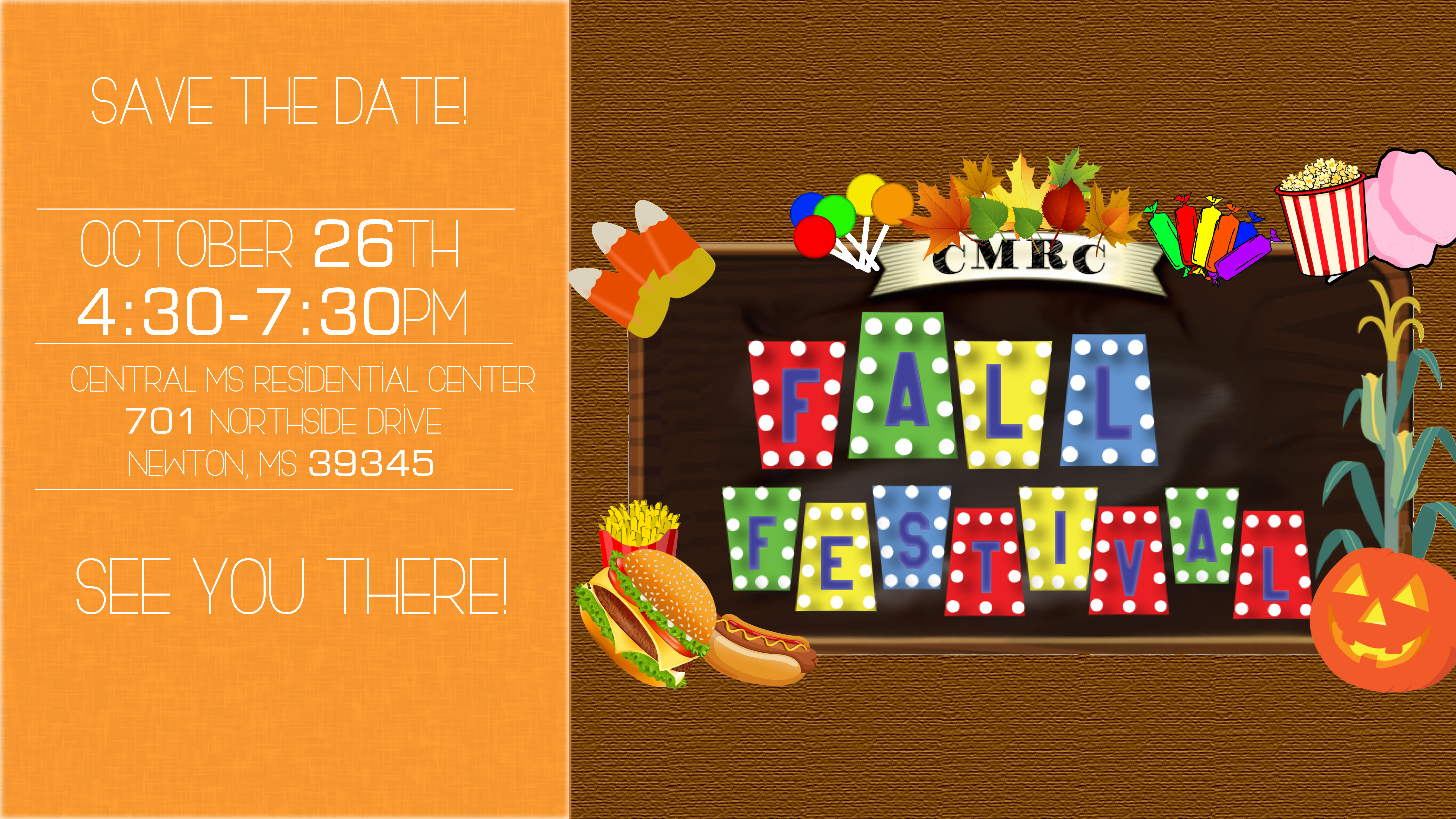 CMRC Fall Festival @ Central MS Residental Center | Newton | Mississippi | United States