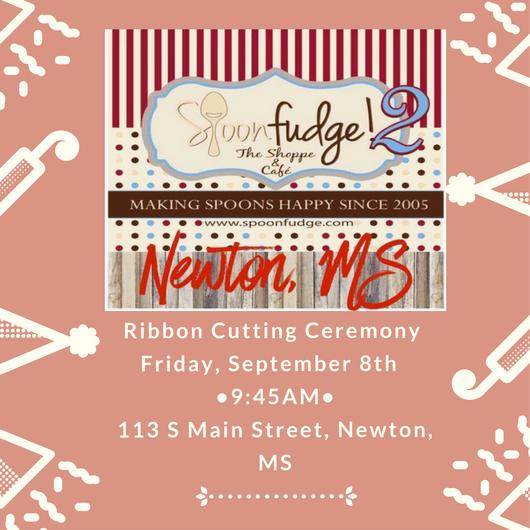 Spoonfudge!2 Ribbon Cutting Ceremony @ Spoonfudge!2   Newton   Mississippi   United States