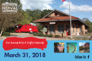 15th Annual Loose Caboose Arts and Crafts Festival @ Downtown Newton | Newton | Mississippi | United States