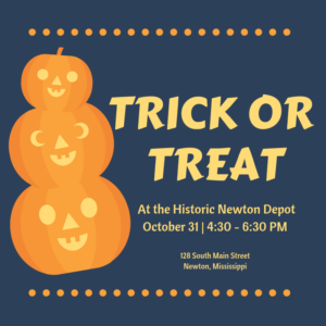 Trick or Treating at the Historic Newton Depot @ Historic Newton Depot | Newton | Mississippi | United States