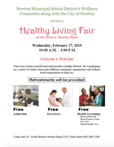 Healthy Living Fair @ The Historic Newton Depot