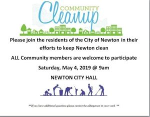 Community Garbage Pickup @ Newton City Hall