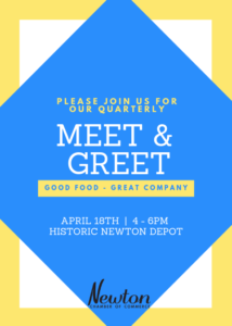 Chamber Member Meet & Greet @ Historic Newton Depot
