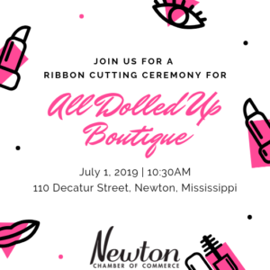 Ribbon Cutting Ceremony for All Dolled Up Boutique @ All Dolled Up Boutique