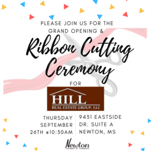 Ribbon Cutting Ceremony & Grand Opening for Hill Real Estate Group, LLC @ Hill Real Estate Group, LLC