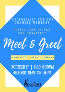 Chamber Member Meet & Greet @ The Newton Depot