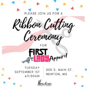Ribbon Cutting Ceremony For First Lady Apparel @ First Lady Apparel