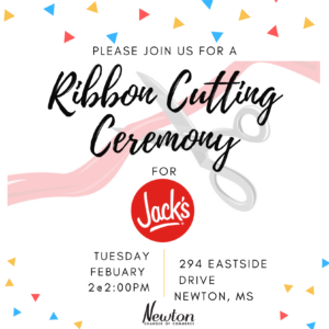 Ribbon Cutting Ceremony for Jack's Family Resturant @ Jack's Family Resturant