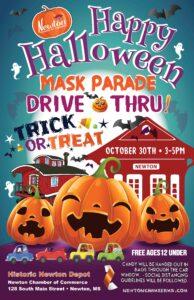 2021 Halloween Drive-thru @ Newton Depot